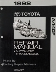 1992 Toyota A440F Automatic Transmission Repair Manual