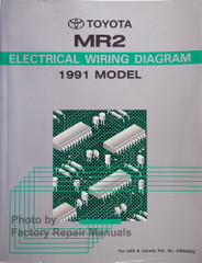1991 Toyota MR2 Electrical Wiring Diagrams
