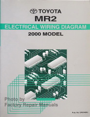 2000 Toyota MR2 Spyder Electrical Wiring Diagrams