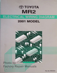 2001 Toyota MR2 Spyder Electrical Wiring Diagrams