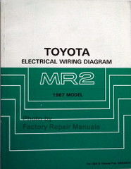 1987 Toyota MR2 Electrical Wiring Diagrams