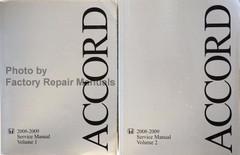2008-2009 Honda Accord 4 Cylinder Service Manual Volume 1, 2