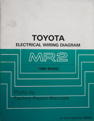 1989 Toyota MR2 Electrical Wiring Diagrams