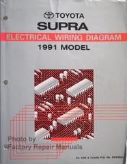 1991 Toyota Supra Electrical Wiring Diagrams