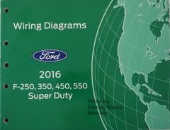 2016 Ford F250 F350 F450 F550 Super Duty Electrical Wiring Diagrams