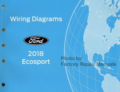 2018 Ford EcoSport Electrical Wiring Diagrams