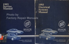 1993 Buick LeSabre Service Manual and Electrical Systems Manual