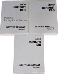 2000 Infiniti I30 Service Manual Volumes 1, 2 & 3