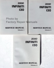 2000 Infiniti I30 Service Manual Volumes 1, 2 & 3
