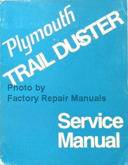 1974 Plymouth Trail Duster Service Manual