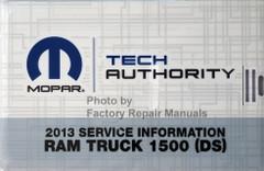 2013 Dodge RAM 1500 Service Information
