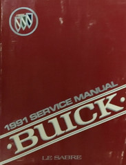 1991 Buick LeSabre Service Manual