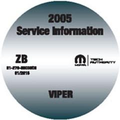 2005 Dodge Viper Mopar Service Manual