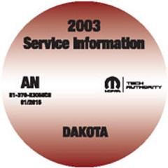 2003 Dakota Mopar Service Manual