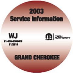2003 Jeep Grand Cherokee Mopar Service Manual
