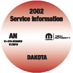 2002 Dodge Dakota Mopar Service Manual
