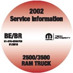 2002 Service Manual Ram Truck 2500-3500