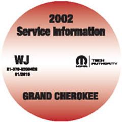 2002 Jeep Grand Cherokee Mopar Service Manual