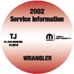 2002 Jeep Wrangler Mopar Service Information