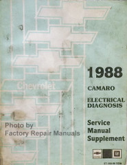 1988 Chevy Camaro Electrical Diagnosis Service Manual Supplement