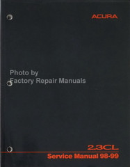 1998 1999 Acura 2.3 CL Service Manual