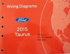 2015 Ford Taurus Electrical Wiring Diagrams