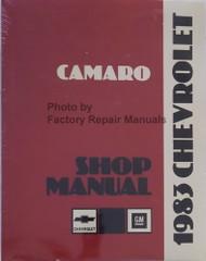 1983 Chevrolet Camaro Shop Manual Reprint
