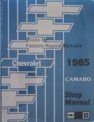 1985 Chevrolet Camaro Shop Manual