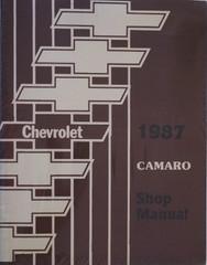 1987 Chevy Camaro Shop Manual