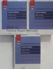 1990 Chevrolet Camaro Service Manual Volume 1, 2, 3