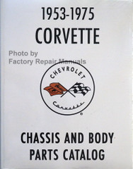 1953-1975 Corvette Chassis and Body Parts Catalog