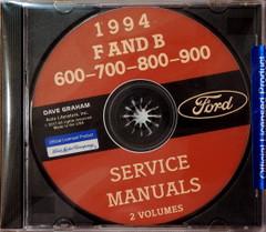 1994 Ford F600 F700 F800 F900 B600 B700 Service Manuals CD