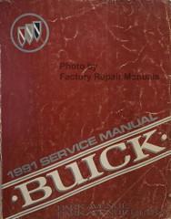 1991 Buick Park Avenue / Park Avenue Ultra Service Manual