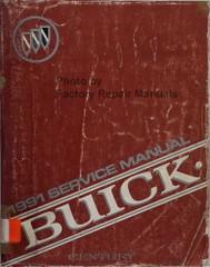 1991 Buick Century Service Manual