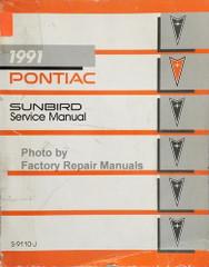 1991 Pontiac Sunbird Service Manual