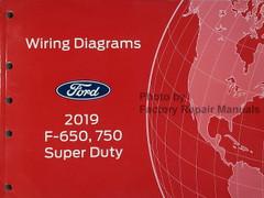 2019 Ford F-650 F-750 Super Duty Wiring Diagrams