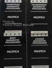 2005 Chrysler Pacifica Diagnostic Procedures Manuals