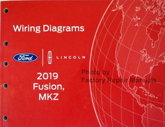 2019 Ford Fusion Lincoln MKZ Wiring Diagrams