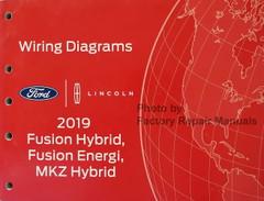 2019 Ford Fusion Hybrid Lincoln MKZ Hybrid Wiring Diagrams