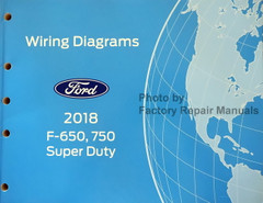 2018 Ford F650 F750 Electrical Wiring Diagrams
