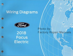 2018 Ford Focus Electric Models Wiring Diagrams