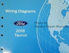 2018 Ford Taurus and Police Interceptor Sedan Electrical Wiring Diagrams