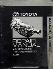 Toyota A340E / A340F Automatic Transmission Repair Manual
