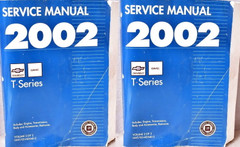 2002 Chevrolet GMC T Series Truck Factory Shop Service Manual Volume 1, 2