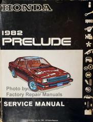 1982 Honda Prelude Service Manual