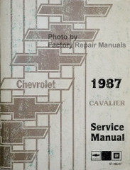 1987 Chevrolet Cavalier Shop Manual