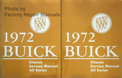 1972 Buick Chassis Service Manual All Series