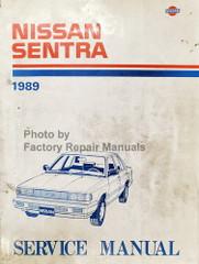 1989 Nissan Sentra Service Manual