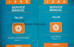 1995 Service Manual Talon Volume 1 and 2