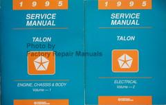 1995 Service Manual Talon Volume 1 and 2